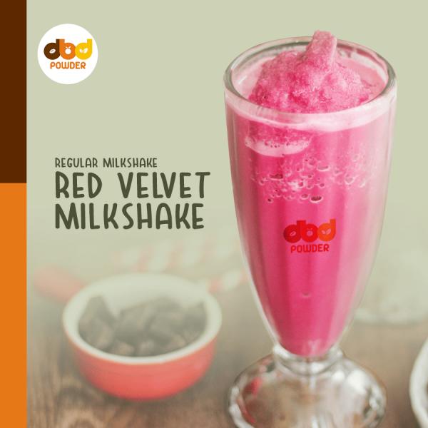 Bubuk Minuman Red Velvet – Powder Red Velvet