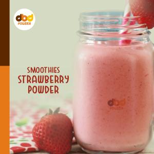 Bubuk Minuman Strawberry Smoothies
