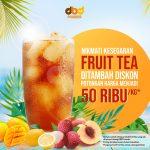 Nikmati Kesegaran Bubuk Minuman Fruit Tea